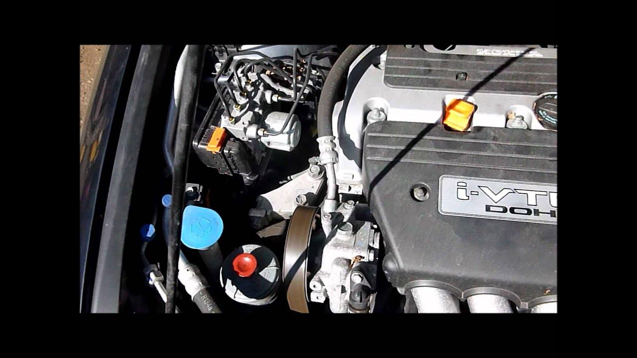 2003 Honda Civic Ex Fuel Filter Location 2007 Honda Accord 2 0 Vtec Engine K20z2 Youtube