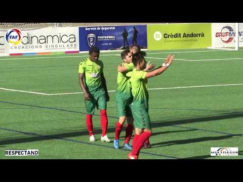 RESUM: Lliga Multisegur Assegurances, J4. Inter Club Escaldes - Tic Tapa Sant Julià (2-4)