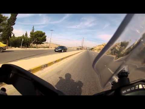 Hypermotard 821 - Dead Sea to Amman