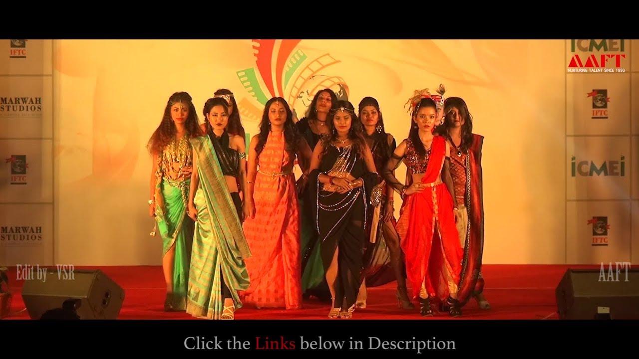 Fashion Show Students School Of Fashion Marwah Studios Youtube