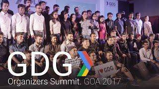 GDG Organizers Summit - Goa 2017