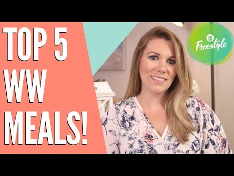 TOP 5 WW MEALS With SMART POINTS!