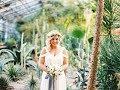 Свадебная фотосессия, фондовая оранжерея!