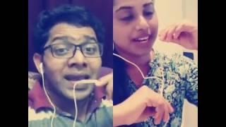 Oru kili Iru kili smule duet Malayalam song