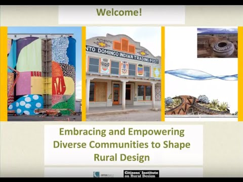 Embracing and Empowering Diverse Communities to Shape Rural Design