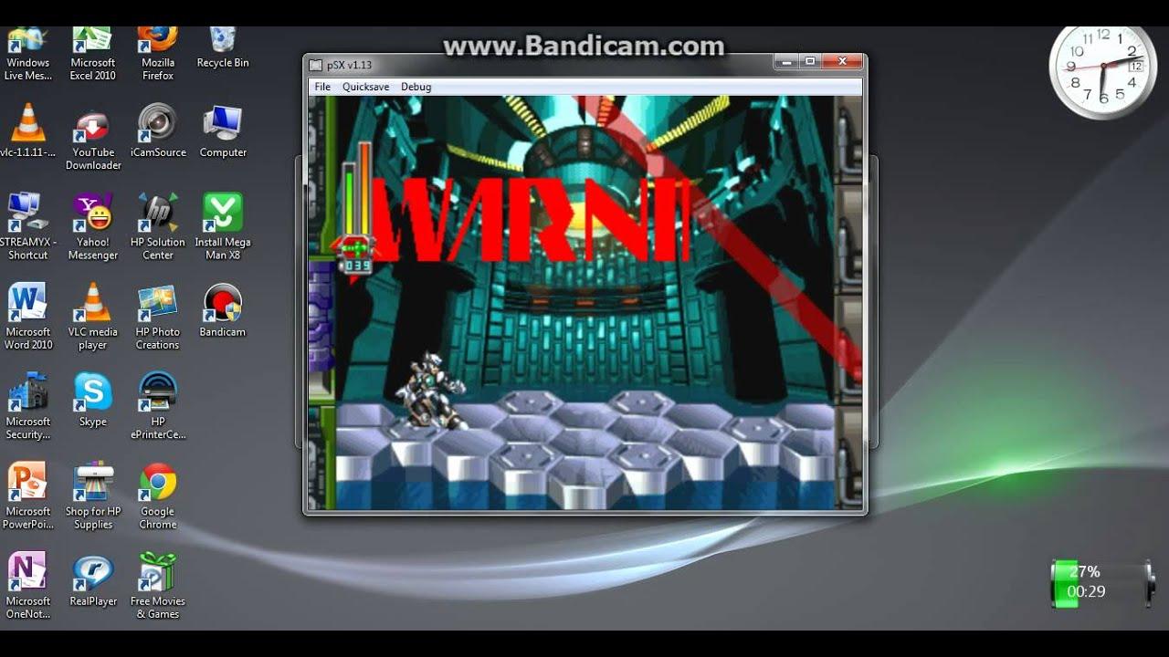 Wan playing megaman x6 pc