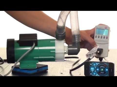 Iwaki and Panworld external aquarium pump demo. Quality & efficiency versus price.