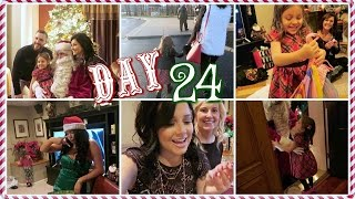 CHRISTMAS EVE FESTIVITIES! | Vlogcember Day 2...