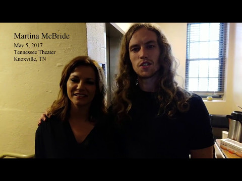 Martina McBride w/ David Francisco - spinal cord injury survivor -