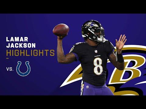 Lamar Jackson's 504 of Ravens 523 Yards yds vs. Colts | Week 5