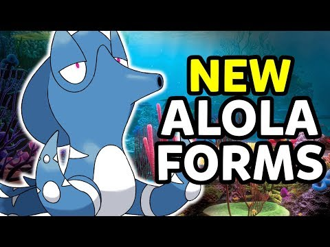 Alolan Octillery! Possible New Alola Form Pokémon for Pokémon Ultra Sun and Ultra Moon Spotlight