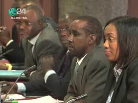 SRC Chair Appears Before Senate Devolution Team