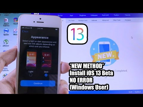 NEW Method* How To Install iOS 13 Beta No Error (Windows User) - YouTube