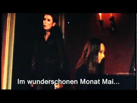 Robert Schumann - Dichterliebe Op.48 (Im wunderschönen Monat Mai)[subtitles].