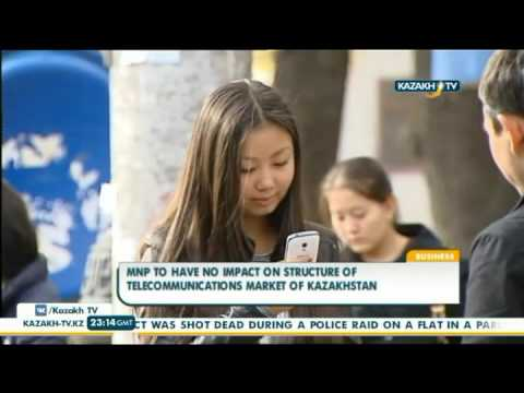 MNP to have no impact on structure of telecommunications market of Kazakhstan - Kazakh TV