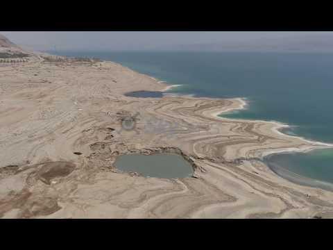 Ein Gedi Aera, Dead Sea, ISRAEL, 4K
