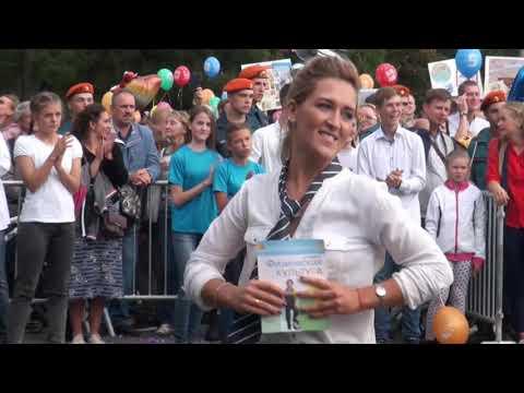 Колпинские школы на шествии в День города Колпино 01.09.18