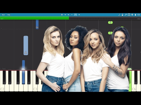 How to play Touch - EASY Piano Tutorial - Little Mix