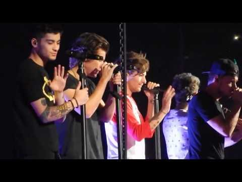One Direction - Change My Mind HD 16/10/13...