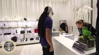 rapper 28 spend $1107 in Giuseppe store at Phipps