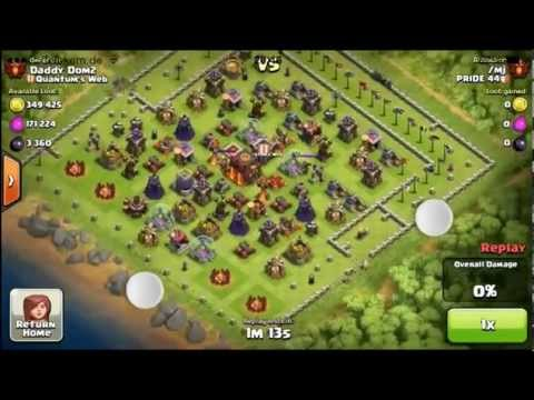 Clash of clans - Worst attack fails ever