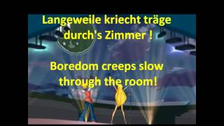 Winx 2 ♪ Stella & Musa Concert (GERMAN) - Translation + Lyrics