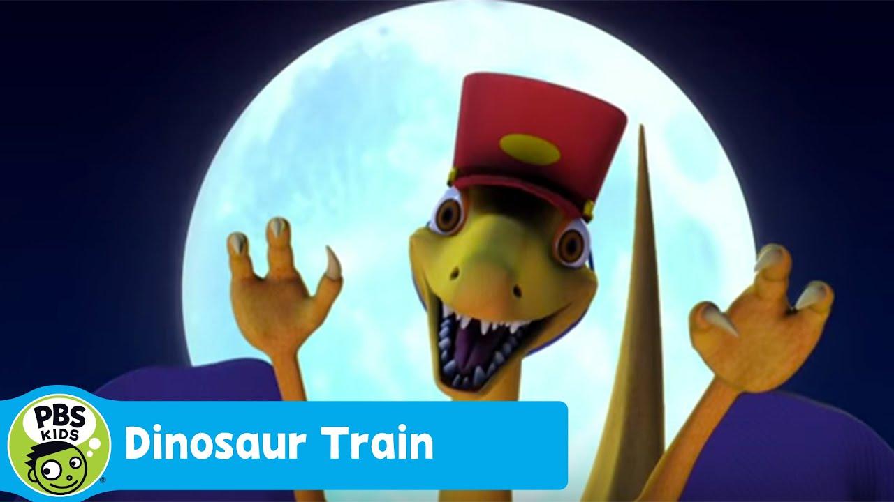 DINOSAUR TRAIN | Troodon Night Train (Song) | PBS KIDS ...