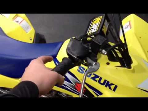 Suzuki 450 ltr problem
