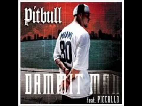 Pitbull  Dammit Man