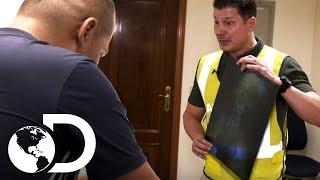 Pasajero niega tener drogas en su cuerpo | Control de fronteras | Discovery Latinoamérica