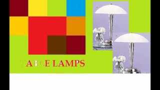 Latest Bedroom Table Lamps -  Best Selling Bedroom Side Lamp  Brands
