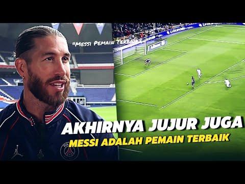 Sering Dibuat Messi Menderita !!! Inilah Alasan Sergio Ramos Menyebut Messi Pemain Terbaik Di Dunia