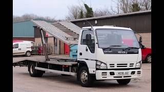 isuzu nqr 5.2 turbo diesel automatic twin deck lorry double bed recovery breakdown vehicle