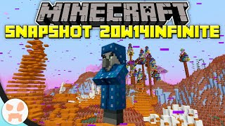 The INFINITE (+ LAST) MINECRAFT SNAPSHOT! | Minecraft Infinite Update Snapshot 20w14infinite