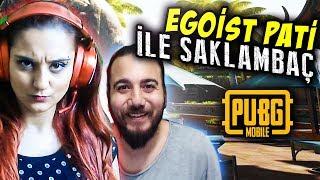 KIZIL PATİ VE EGOİST PATİ SAKLAMBAÇ OYNARSA! (PUBG Mobile Saklambaç)