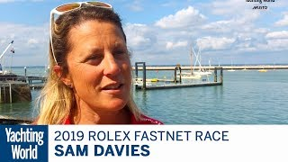 Sam Davies on doing the Rolex Fastnet Race on her IMOCA 60 | Yachting World