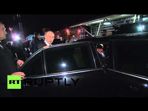 Armenia: Putin arrives in Yerevan for 100th Armenian mass-killings anniversary
