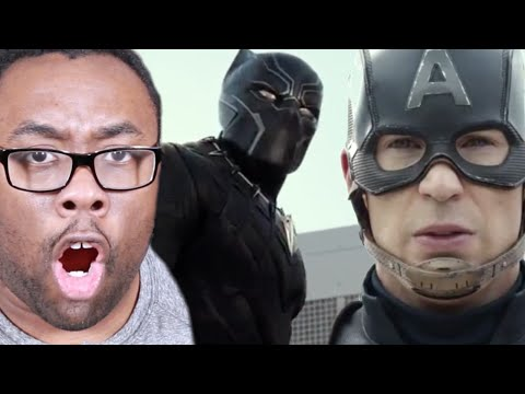 CAPTAIN AMERICA CIVIL WAR Trailer Review : Black Nerd