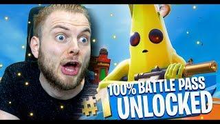 UNLOCKING ALL 100 TIER in SEASON 8!! - Fortnite Battle Royale!