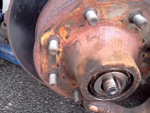 Brake Pad And Rotor Replacement >> 1997 DODGE RAM PASSENGER VAN,Brakes/Rotors - YouTube