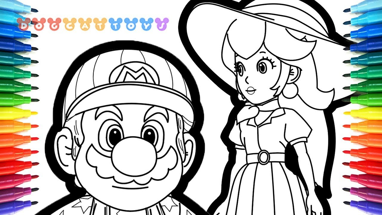 Coloriage Super Mario Odyssey Cappy - Coloriage Ideas