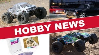 New RC, Gunpla, and More! | HOBBY NEWS March 2018