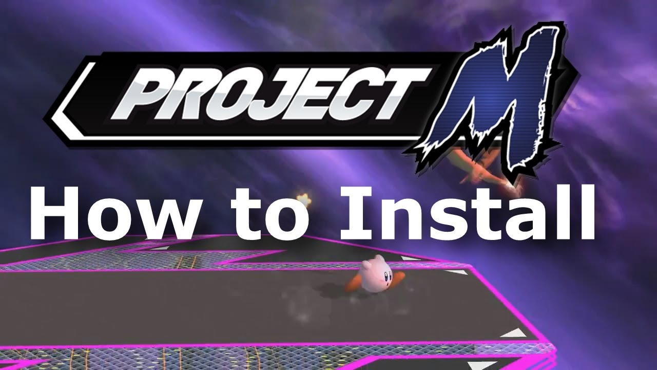 how to install project m 35 super smash bros brawl