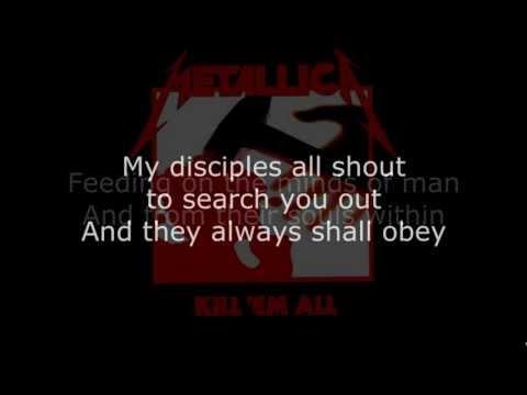 Metallica - Jump In The Fire Lyrics (HD)