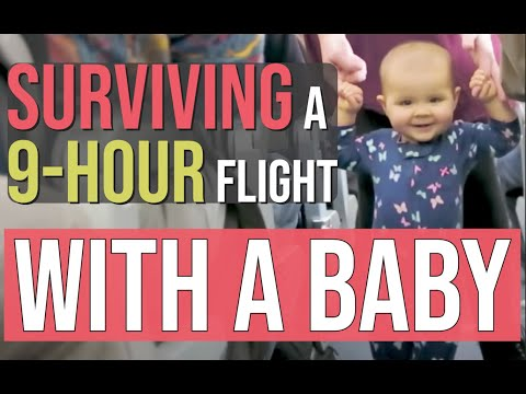 OVERSEAS FLIGHT WITH A BABY