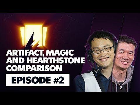 BTS Artifact Podcast Episode #2: Artifact, Magic and Hearthstone Comparison