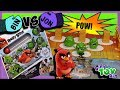 BIN VS JON - Angry Birds PIG BOWLING Game!