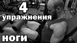 4 упражнения для ног. Натуральный бодибилдинг