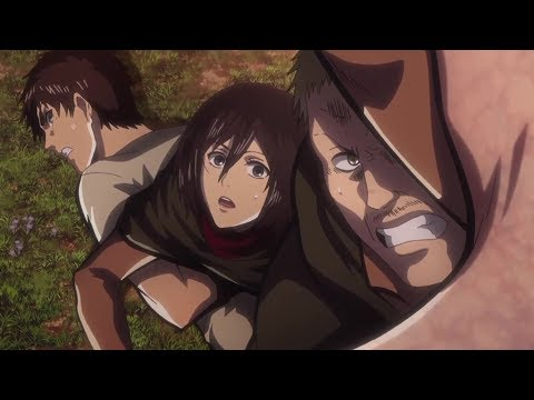 Attack on Titan Hannes death Season 2 Episode 12 Sub HD