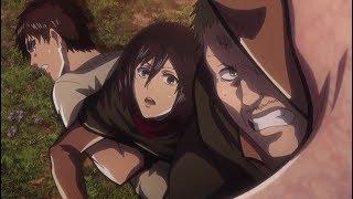Attack on Titan Hannes death Season 2 Episode 12 Sub HD